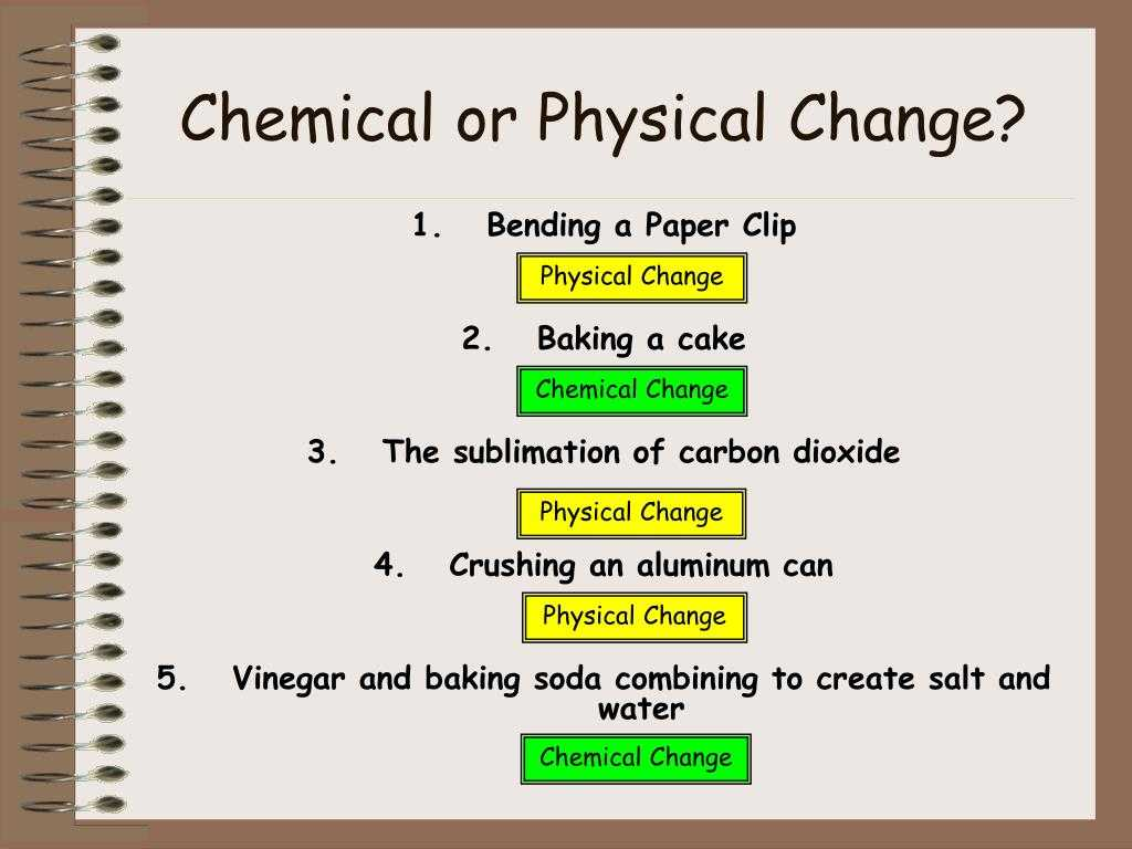 Physical and Chemical Properties and Changes Worksheet Also why is Crushing A Can A Physical Change Bing Images