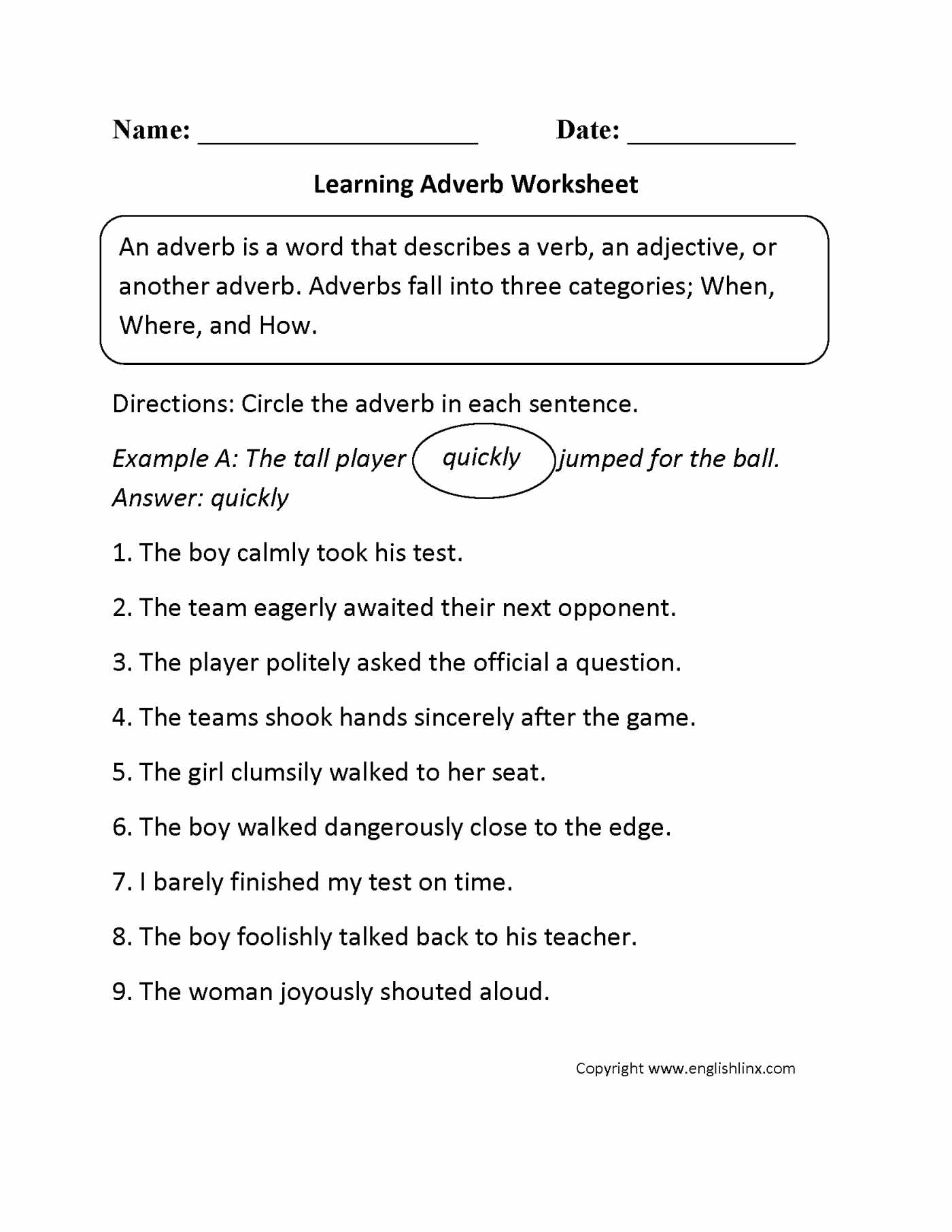 Possessive Adjectives Worksheet Along with Adverbs Frequency Crossword Puzzle Pdf Adverb Warmers Coolers