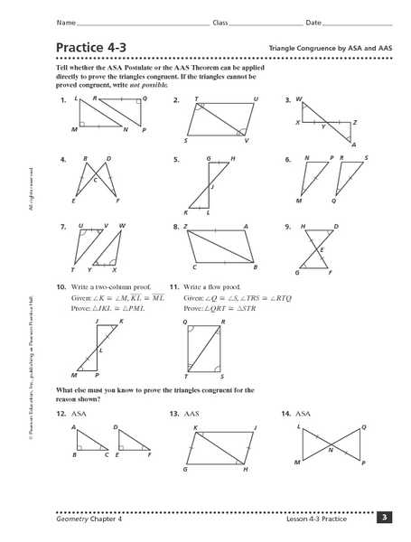 Proofs Worksheet 1 Answers as Well as Congruent Triangles Worksheet Chapter 4 Kidz Activities