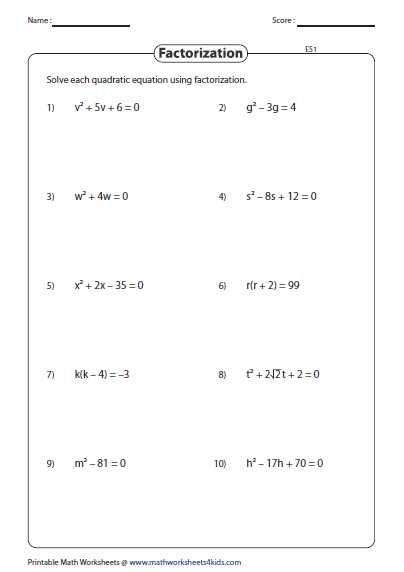 Quadratic Equation Worksheet with Answers Along with This assortment Of 171 Worksheets is Based On Quadratic Equation and