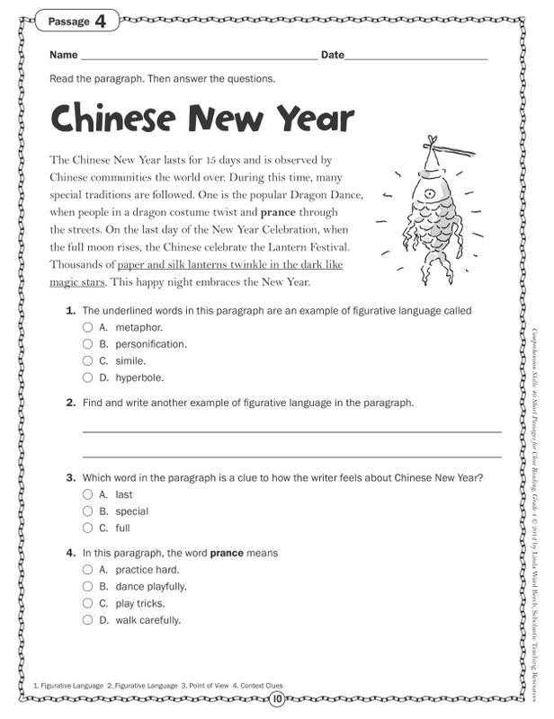 Reading A Map Worksheet Pdf Also Grade 4 Prehension Kidz Activities
