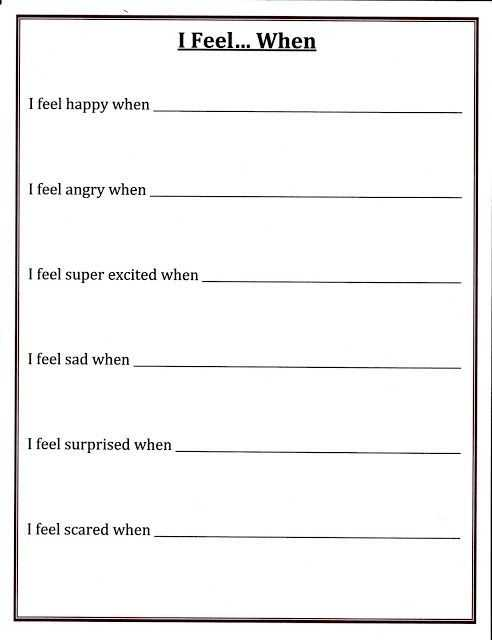 Self Esteem Worksheets for Elementary Students with Self Esteem Worksheets