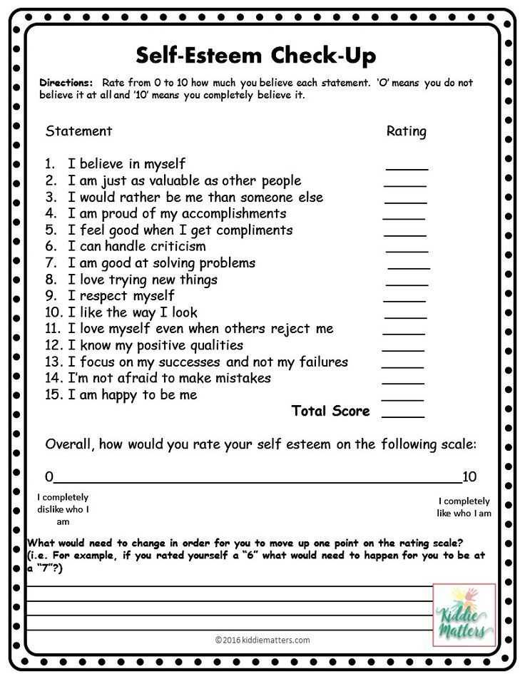 Self Love Worksheet as Well as 120 Best Self Worth and Self Esteem Activities for Teens and Young