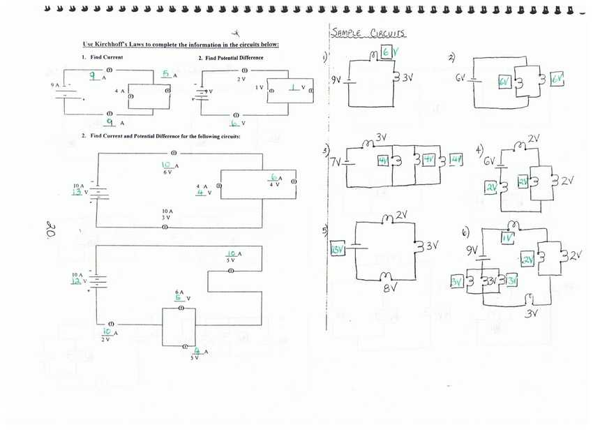 Series and Parallel Circuits Worksheet with Answers as Well as Worksheet Parallel Circuit Problems Episode Answer Key Patent