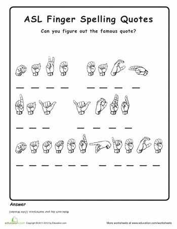 Sign Language Worksheets with 591 Best Sign Language Images On Pinterest