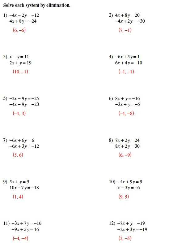 Solving Systems Of Equations by Substitution Word Problems Worksheet Also solving Systems Equations Algebraically Worksheet Best Systems