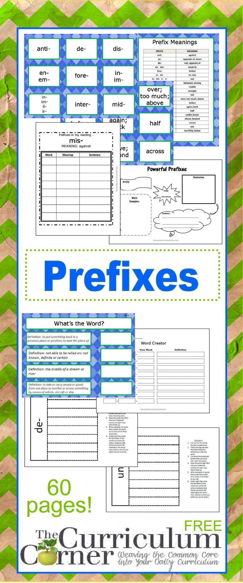 Suffix Ly Worksheet Pdf and Prefix Printables & Resources