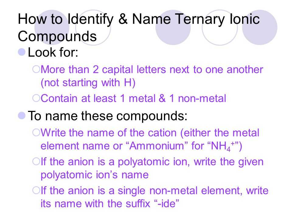 Ternary Ionic Compounds Worksheet Also Chapter 2a Antacids Ppt