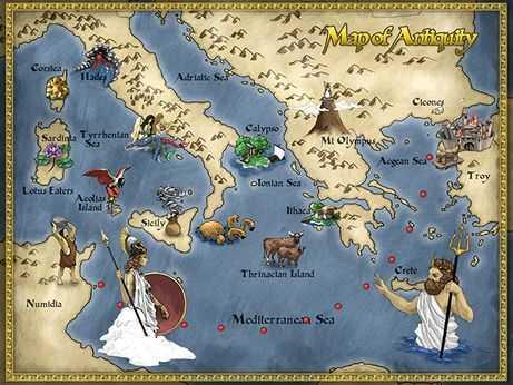 The Odyssey Worksheets Also Odyssey Webquest Lesson Plan Ideas Pinterest