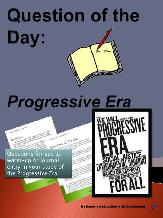 The Progressive Era Video Worksheet Answers and Essay
