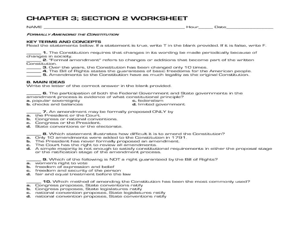 The Us Constitution Worksheet Answers or Polyatomic Ions Pogil Ions Worksheet Chemistry Answer Key Pr