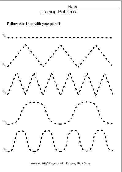 Tracing Worksheets for 3 Year Olds and 126 Best Basteln Images On Pinterest