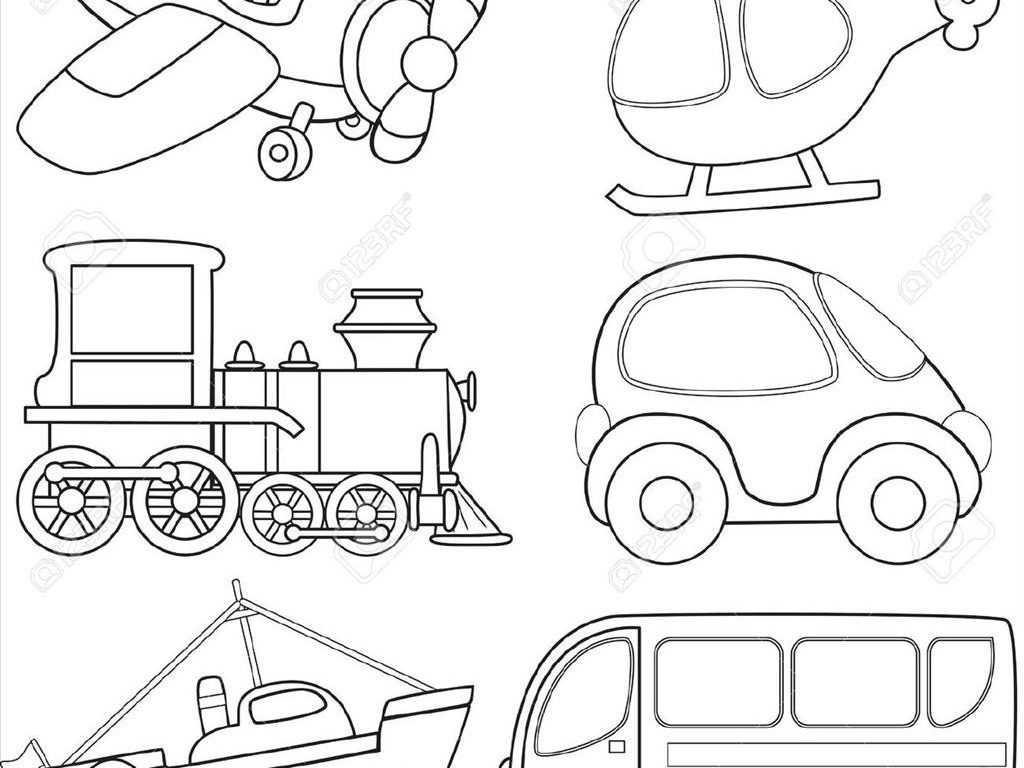 Transportation Worksheets for Preschoolers Along with Jeep Car Transportation Coloring Pages for Kids Printable Fr