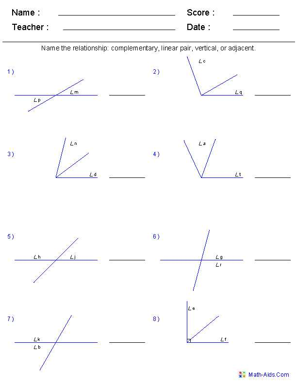 Trigonometry Worksheets with Answers and Geometry Worksheets