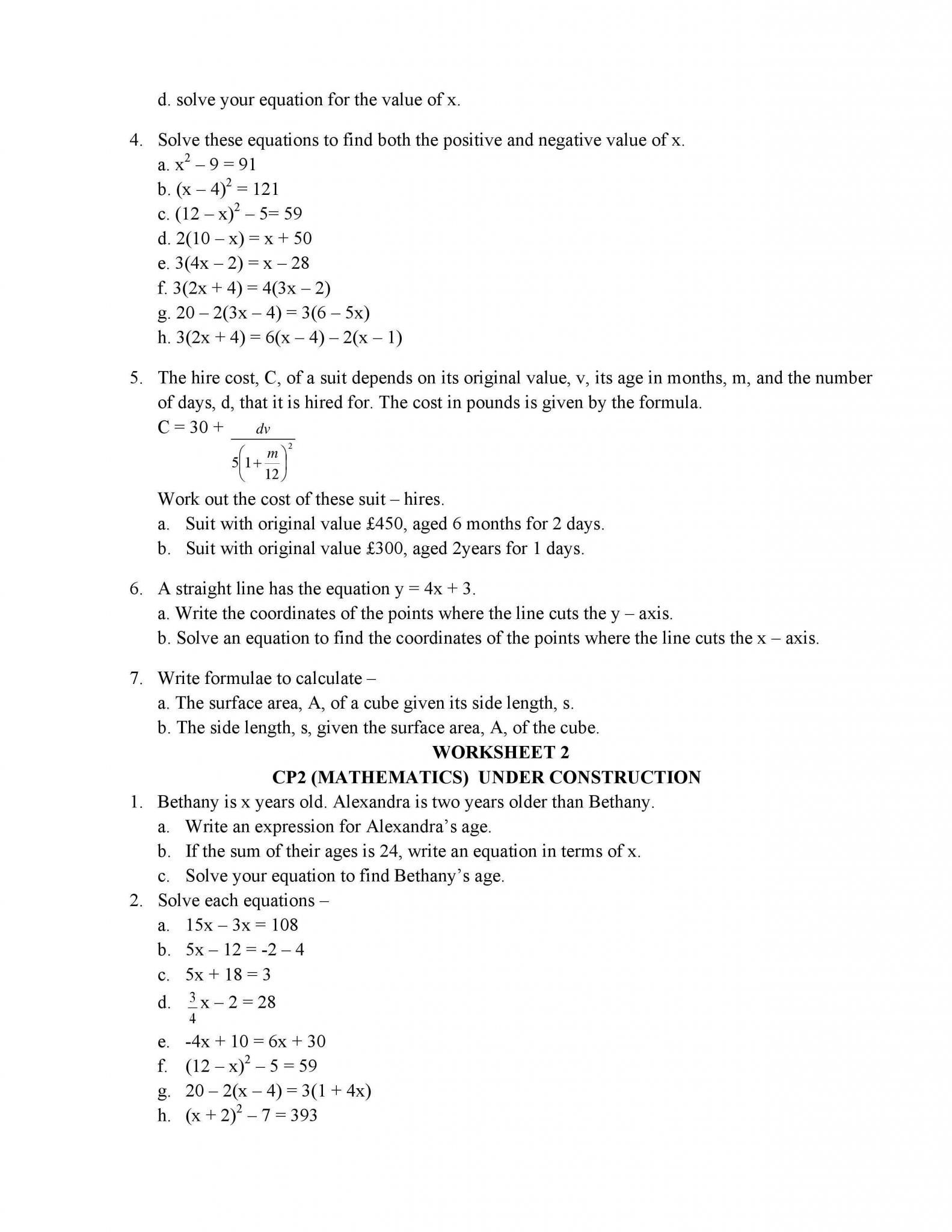 Two Way Frequency Table Worksheet Along with Mathematics Class 8 Cie Cambridge International Education Notes
