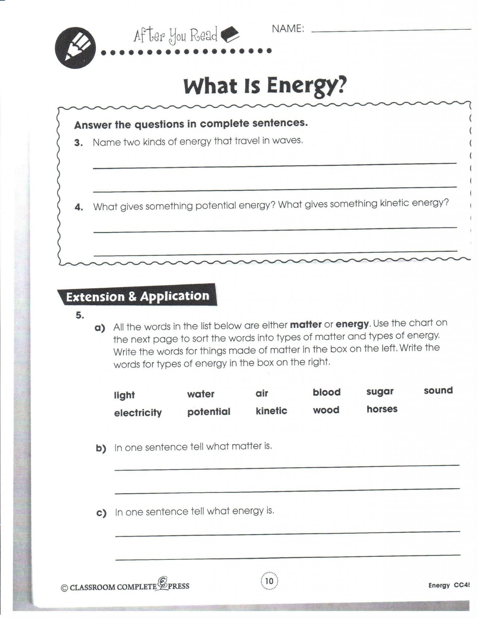 Unit 3 Worksheet Quantitative Energy Problems together with Kinetic and Potential Energy Problems Worksheet Answers Fresh 12