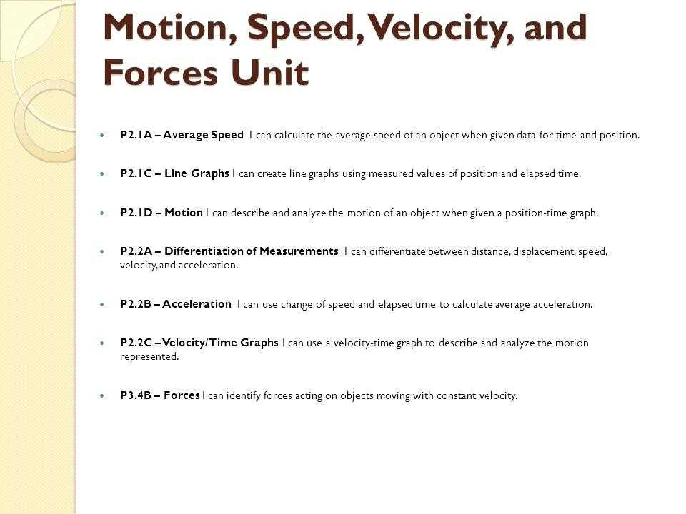 Velocity and Acceleration Worksheet with Speed and Velocity Worksheet Answers Worksheet Math for Kids