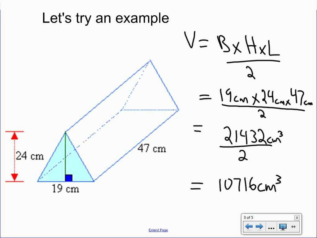 Volume Of A Cylinder Worksheet Pdf Also Volume Of A Triangular Prism All Video Clips Full Hd Clip