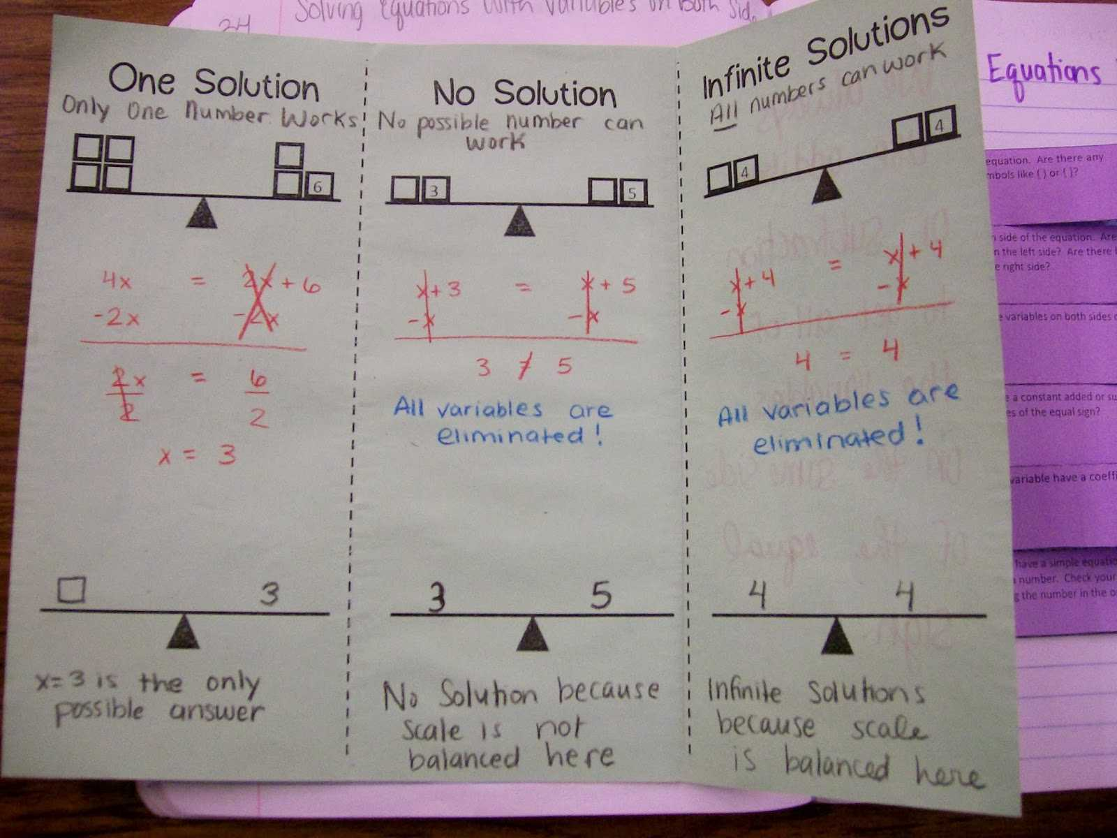 Wave Equation Worksheet Answer Key and Math Worksheets Equations with Variables Both Sides
