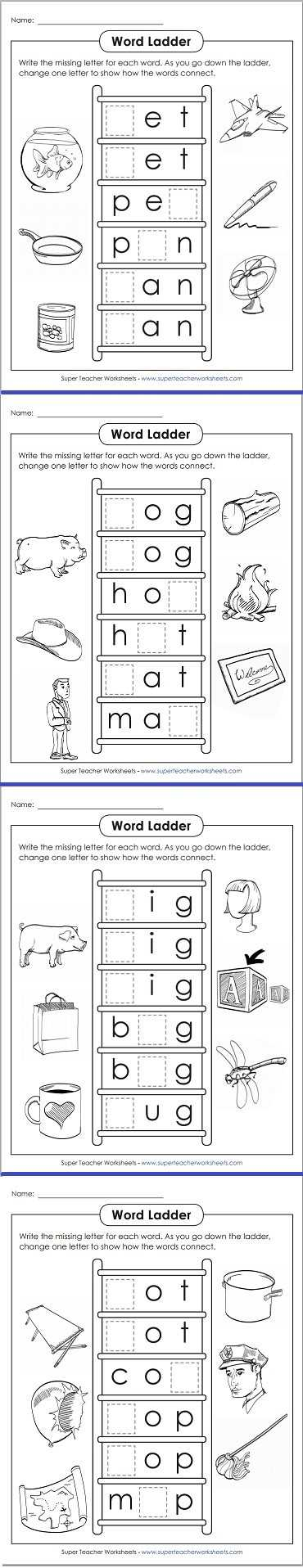 Word Ladder Worksheets for Middle School with Word Ladder Worksheets for Fourth Grade Choice Image Worksheet