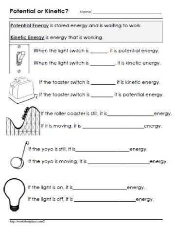 Work Power Energy Worksheet Also solar System for Home