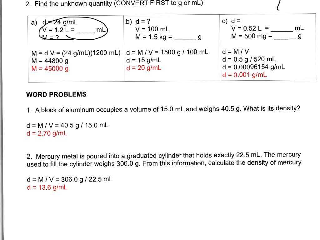 Worksheet Heat and Heat Calculations with Density Calculations Worksheet Cadrecorner