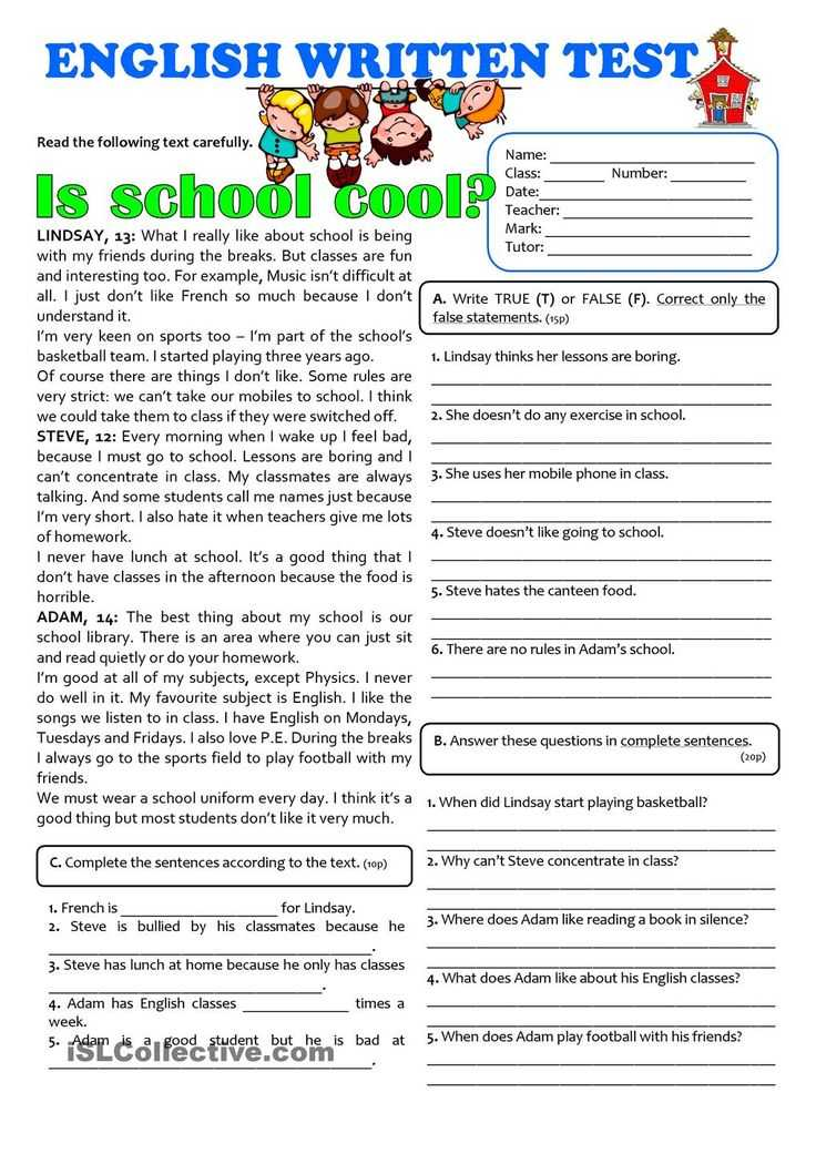 Worksheets On Bullying for Elementary Students Along with School Worksheets