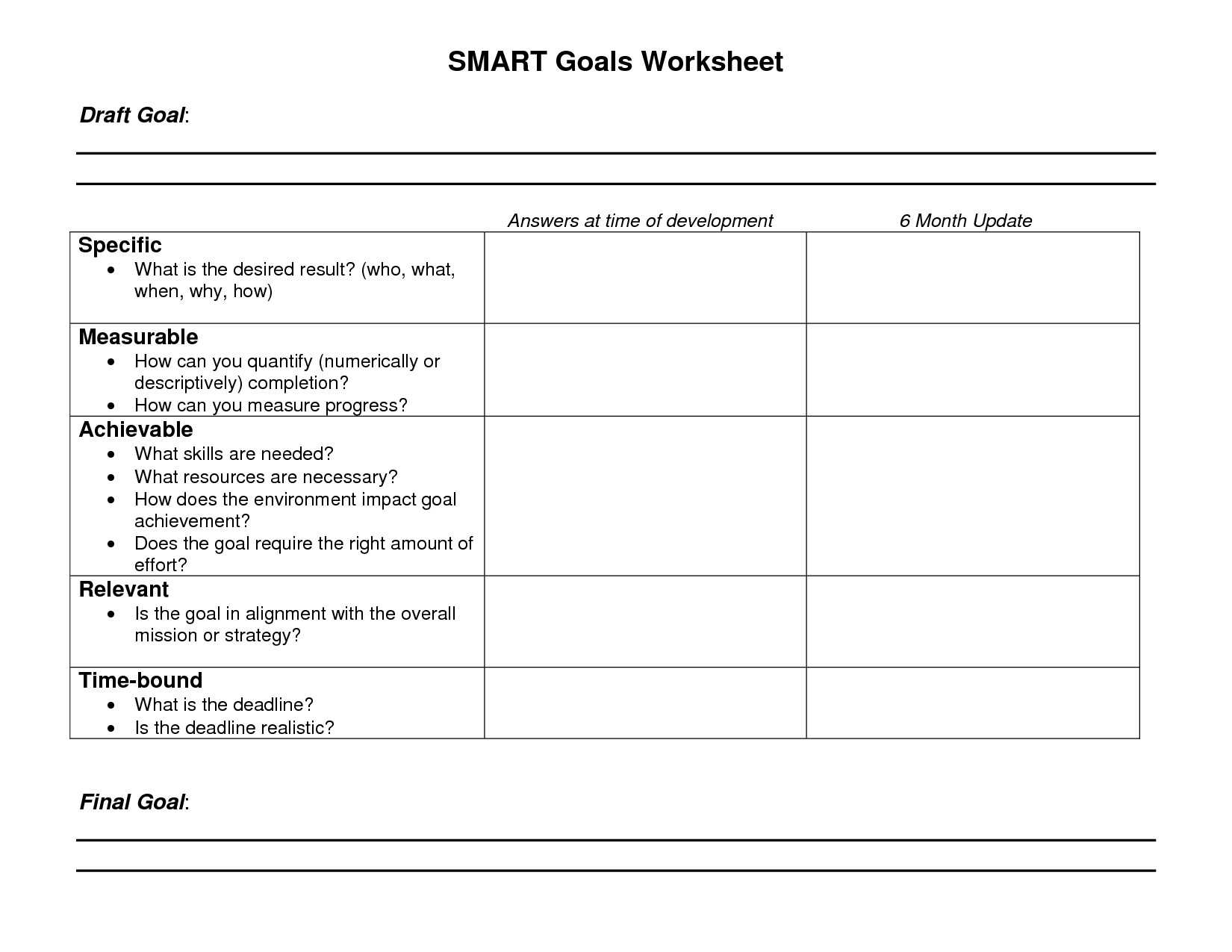 Child Anger Management Worksheets together with Smart Goals Worksheet Pdf Refrence Relationship Goals Worksheet