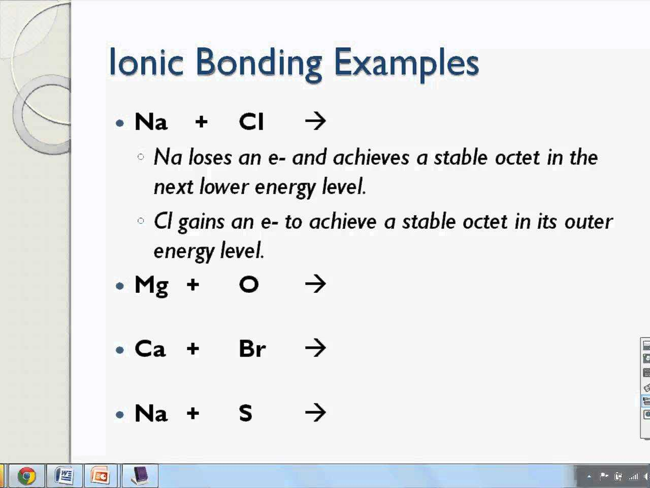 Ionic Bond Practice Worksheet Answers Also Ionic Bonds and Electron Dot Structures Of Ionic Pounds