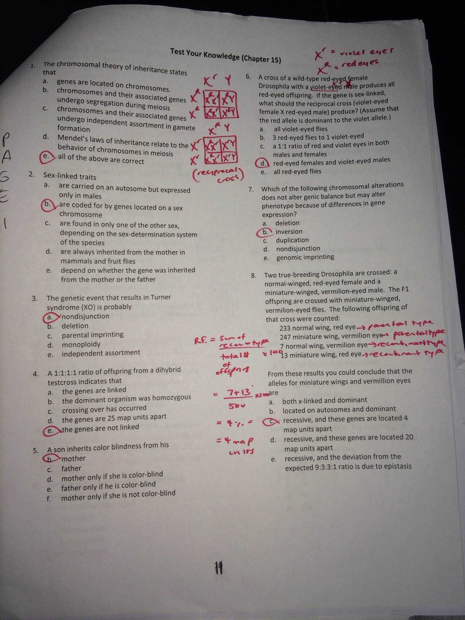 Karyotype Worksheet Answer Key Also Patterns Inheritance Worksheet Answers Beautiful 111 Best Ag