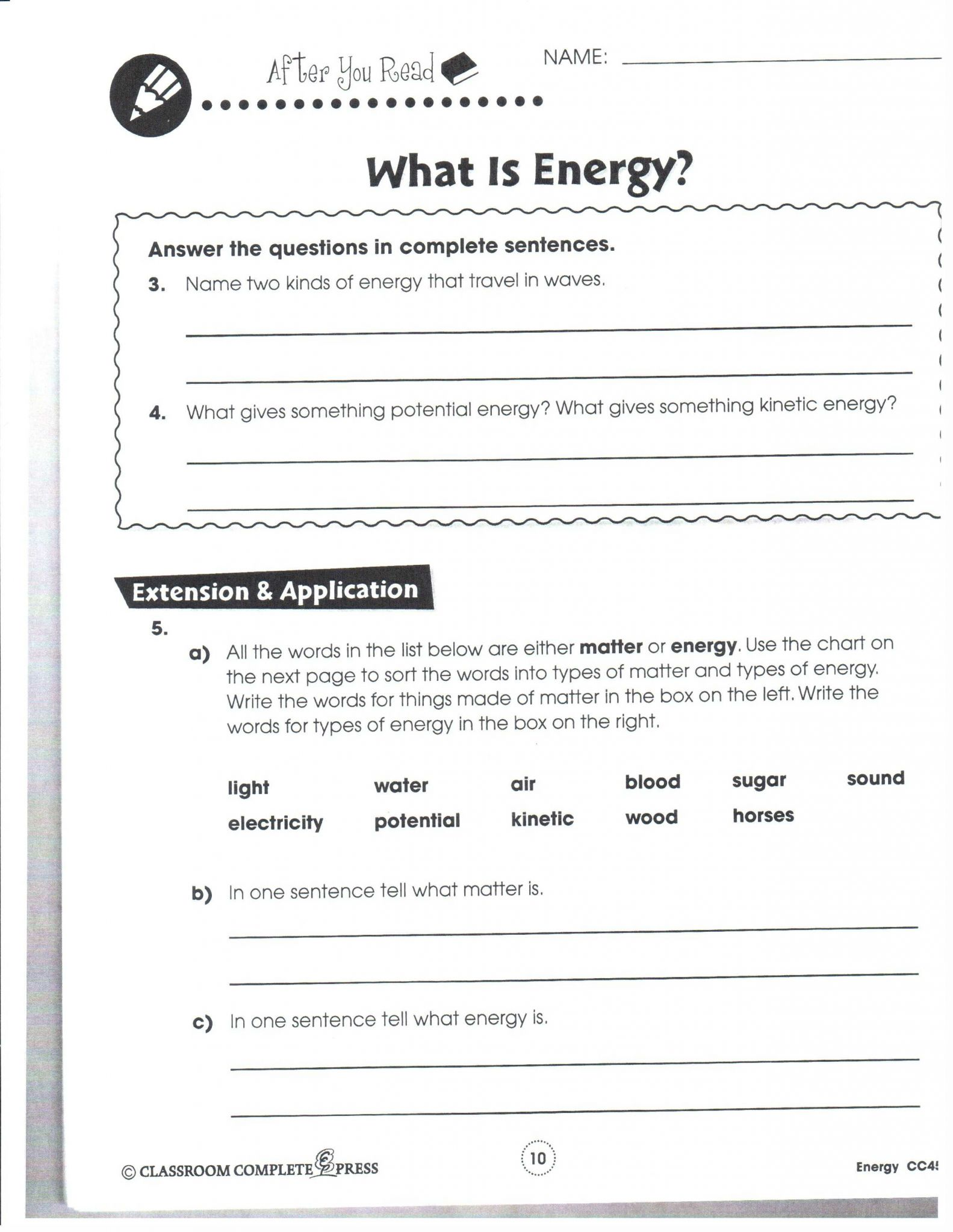 Kinetic and Potential Energy Worksheet Pdf or Potential Energy Worksheet Choice Image Worksheet for Kids Maths