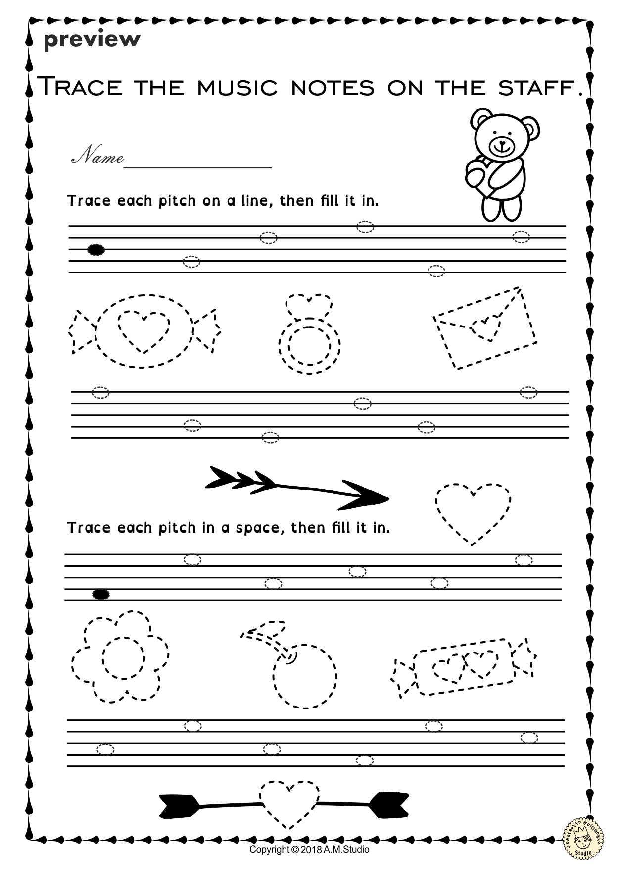 Music History Worksheets