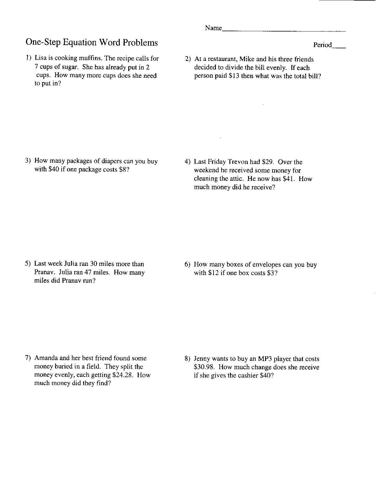 Proportion Word Problems Worksheet 7th Grade Also