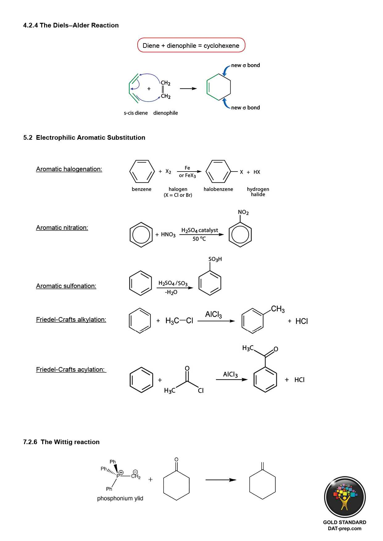Redox Reaction Worksheet with Answers or the Diels–alder Reaction Electrophilic Aromatic Substitution the