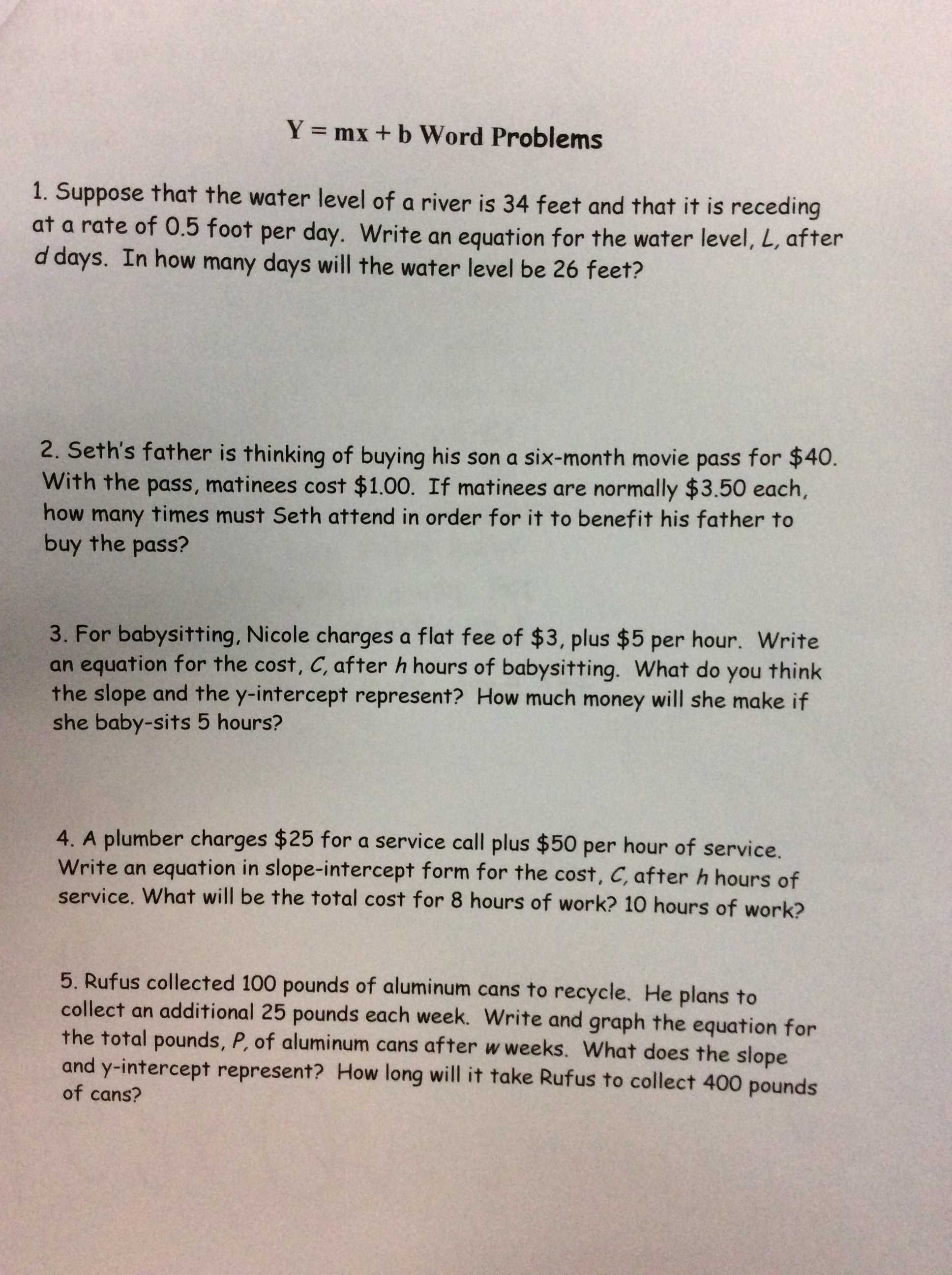 Simple and Compound Interest Practice Worksheet Answer Key as Well as Gorzycki Middle School