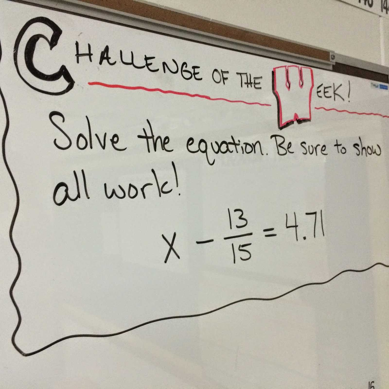 Square Root Worksheets 8th Grade Pdf as Well as Middle School Math Man Challenge Of the Week