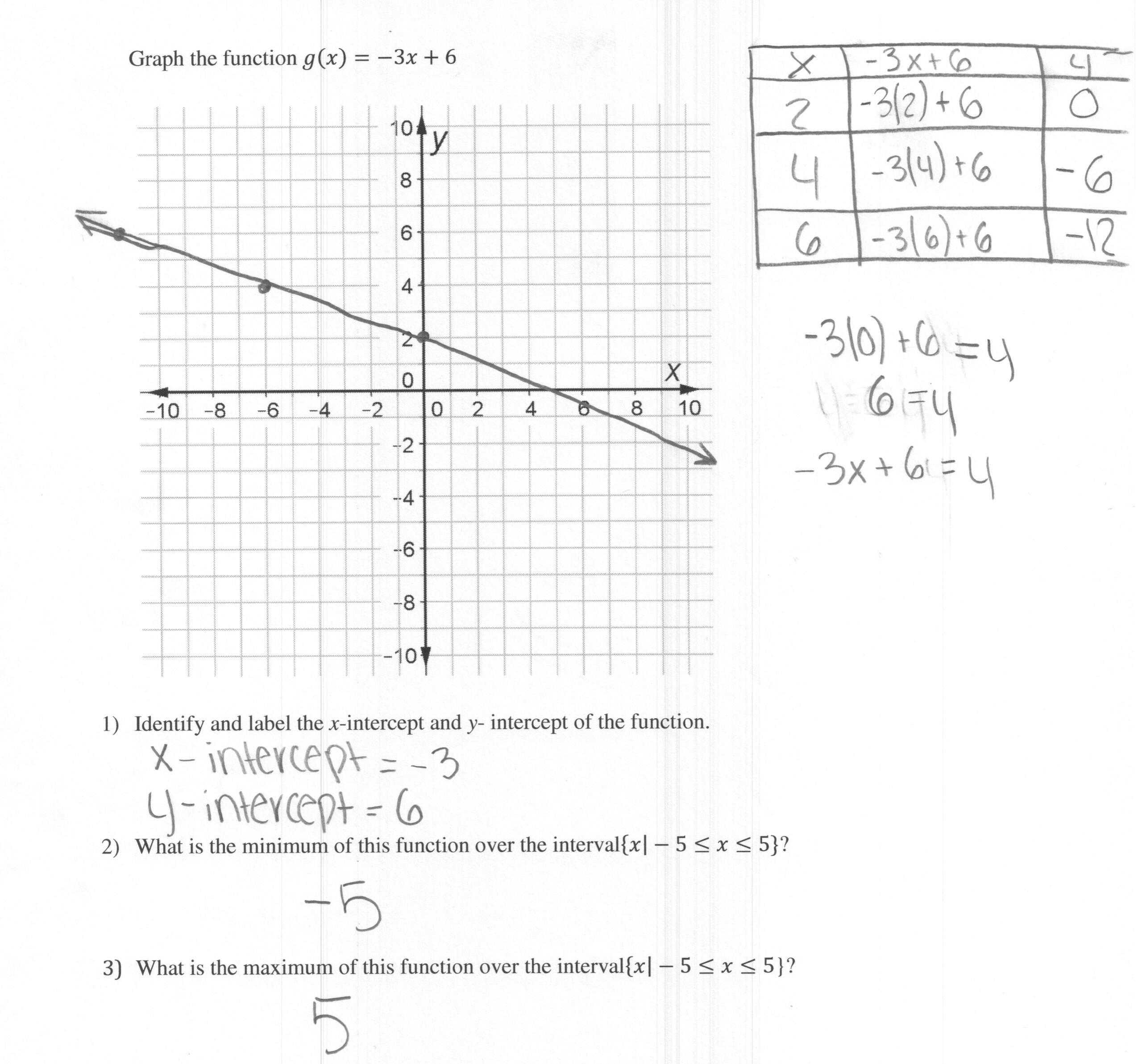Transformations Of Linear Functions Worksheet together with Collection Of Relations and Linear Functions Worksheet