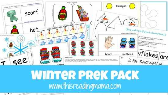 Year 1 Reading Comprehension Worksheets Free and Free Winter Pre K K Pack Updated and Expanded