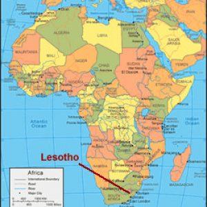 semestafakta-lesotho map2