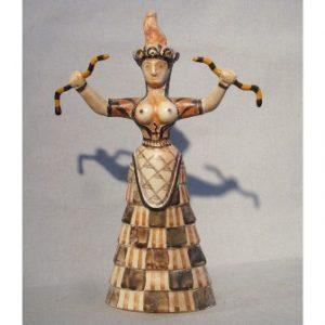 semestafakta-Snake Goddess