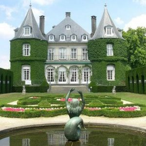 the Chateau de la Hulpe