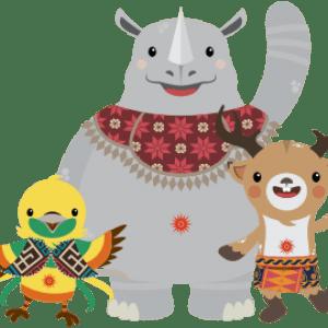 asiangames mascot