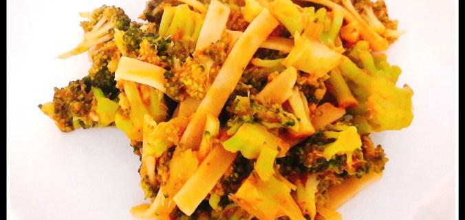 Pasta rossa ai broccoli, ricetta veloce