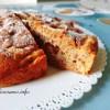 Torta di mele con farina integrale e formaggio spalmabile 2