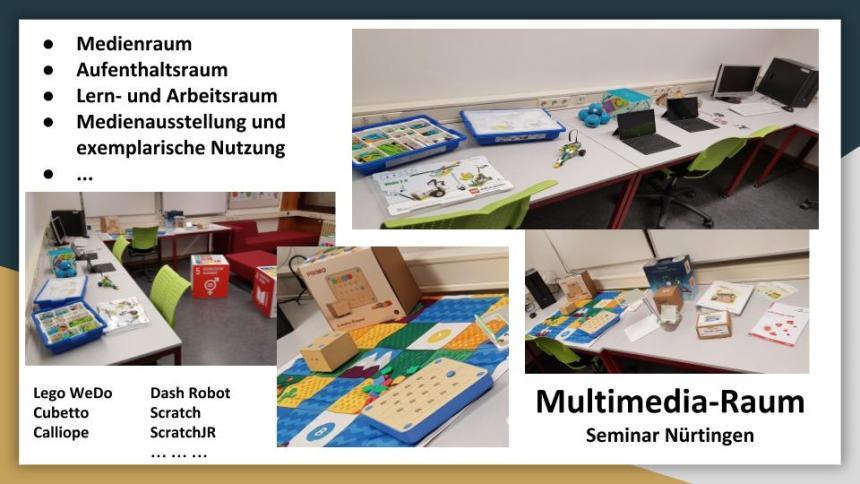 Multimedia Raum Seminar Nürtingen