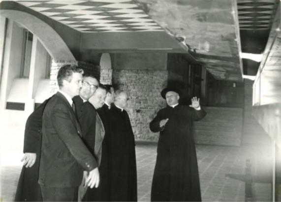 Foto durante la ricostruzione