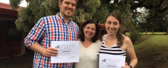 CALL and MNU Continue Partnership with Student Teacher Program in Costa Rica