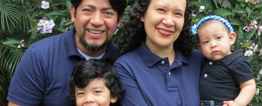 The Jimenez Family:  Called to Serve on the SAM Region