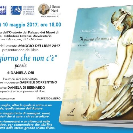 """2017.04.22 – """"Il giorno che non c'è"""" di Daniela Ori al Teatro Alberione (Mo)"""