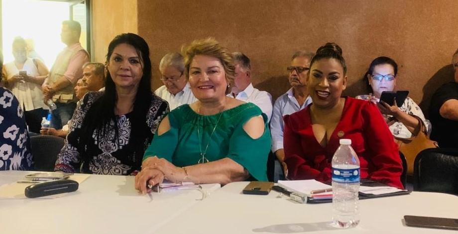Al tercer foro de consulta en mención participaron las diputadas de MORENA, Ernestina Castro Valenzuela, Yumiko Yerania Palomarez Herrera, Rosa María Mancha Ornelas, así como la presidenta de la Comisión Anticorrupción María Dolores del Río Sánchez.